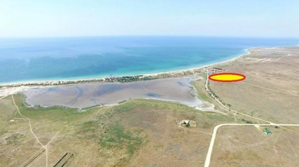 Участок  1 га в с. Витино (450м от моря).