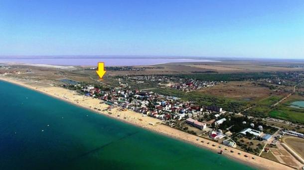 Дачный участок 10 соток в с. Прибрежное (400м от моря).