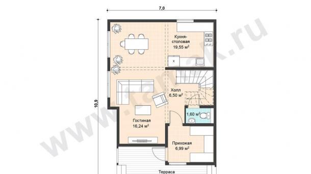Продам новый дом и участок