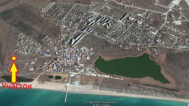 Дачный участок 6 соток в п. Новофёдоровка  (400м от моря).