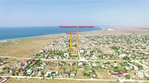 9 соток в пгт. Заозёрное р-н Песчанка по ул.Штормовая (1,5км от моря).