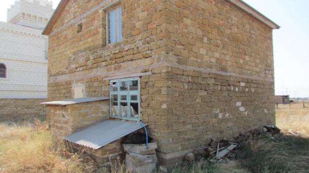 Дом без отделки в с.Витино, 1,3км от моря.