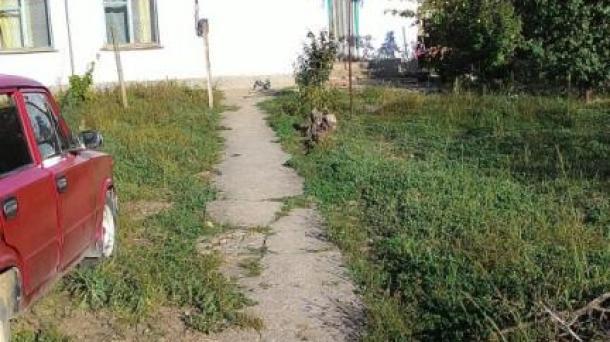 Продается дом в центре села Добрушино (20км от Евпатории). Продажа от собственника. 19.9 соток /  63.8 метра квадратных дом
