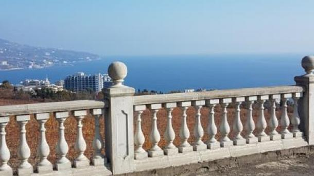 Продажа 2-х вилл на 14,5 сотках в г.Ялта Крым с панорамой на море.