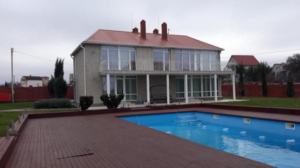 Продам Уникальний двухэтажный Дом с прекрасным видом на море и участок  23 сотки - 15 000 000р