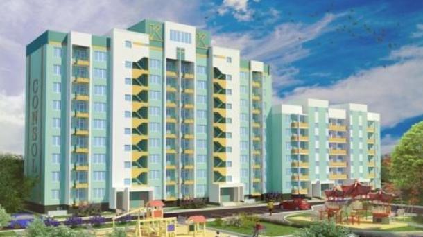 Продам 2-комнатную квартиру в новострое этаж 3/6 этажного элитного дома г. Евпатория.