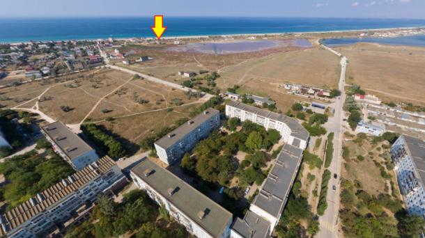 Участок 12 соток в с. Поповка, 120м от моря.