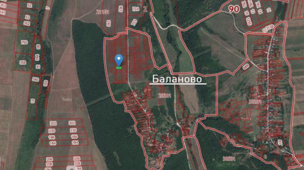 10,4 сотки под ИЖС в с.Баланово, Белогорский р-н.