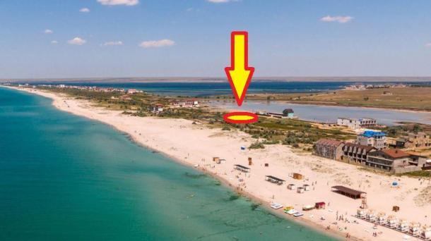 6 соток с. Поповка, кооператив Вотчина 60м от пляжа