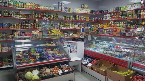 Действующий магазин по пр. Победы.