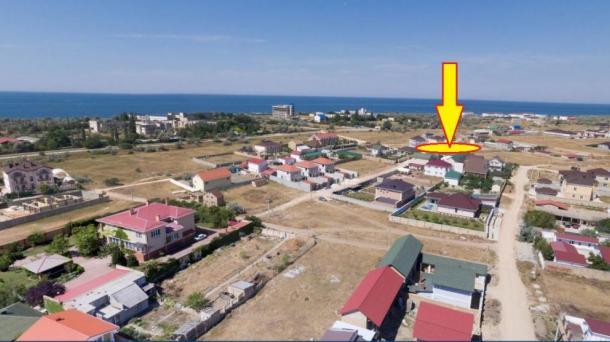 15 соток в  пгт.Заозёрное, улица Скифская (600м от моря).