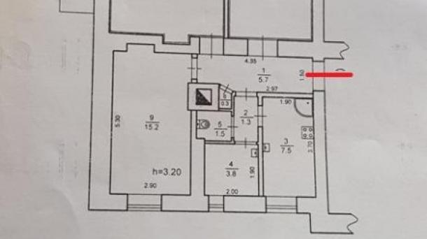 Две комнаты в коммунальной квартире по ул. Франко, 500м от пляжа.