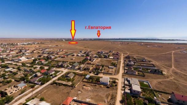 Участок 40 соток в селе Уютное, 4км от моря.