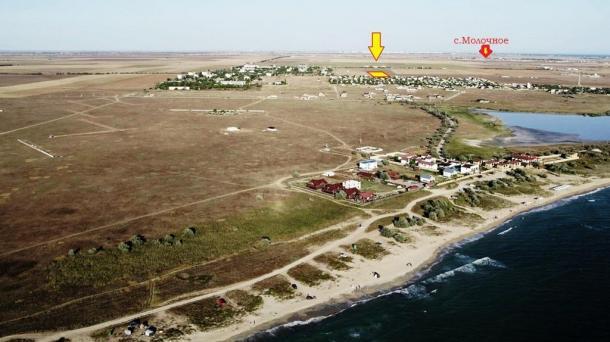 Дачные участки от 7 соток в с.Витино, 1,9км от моря.